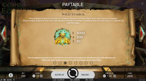 Coins of Egypt review on Big Bonus Slots
