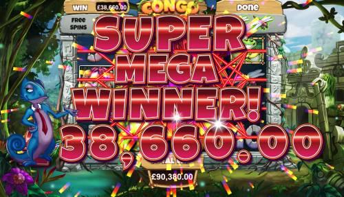 Congo Bongo Big Bonus Slots Super Mega Win