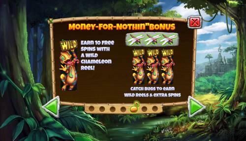 Congo Bongo Big Bonus Slots Money For Nothin Bonus