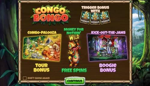 Congo Bongo Big Bonus Slots Introduction