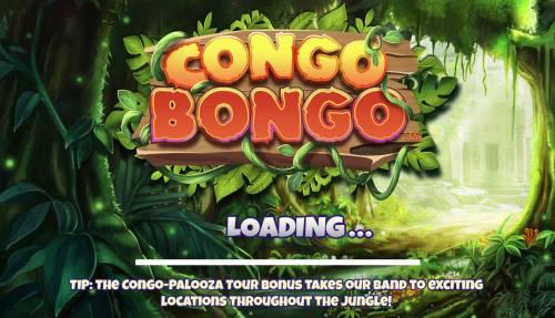 Congo Bongo Big Bonus Slots Splash Screen