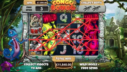 Congo Bongo Big Bonus Slots Multiple winning paylines