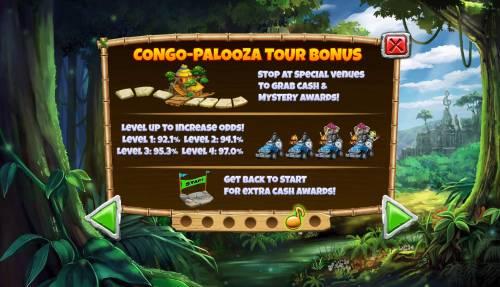 Congo Bongo Big Bonus Slots Congo Palooza Tour Bonus
