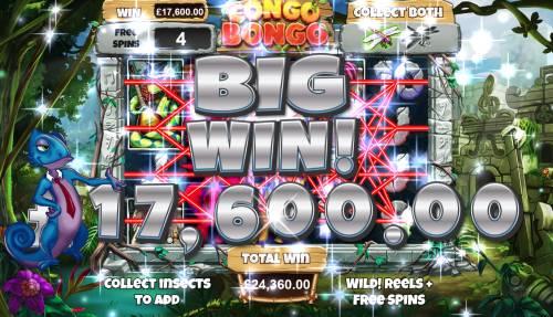 Congo Bongo Big Bonus Slots Big Win