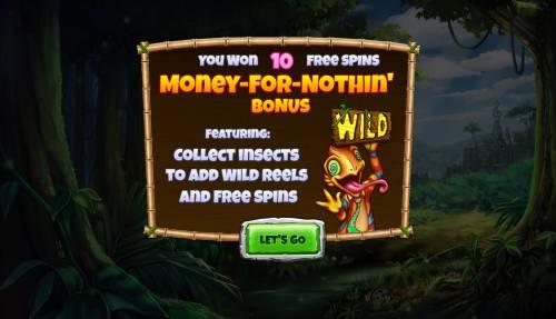 Congo Bongo Big Bonus Slots Bonus Feature Activated