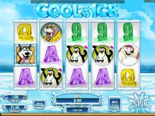 Cool as Ice review on Big Bonus Slots