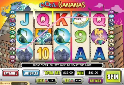 Cool Bananas review on Big Bonus Slots