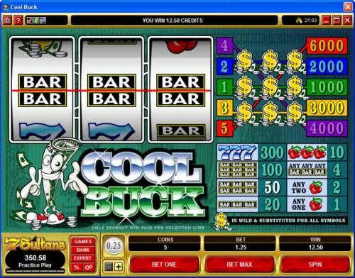 Cool Buck review on Big Bonus Slots