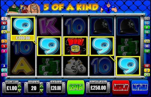 Cop the Lot review on Big Bonus Slots
