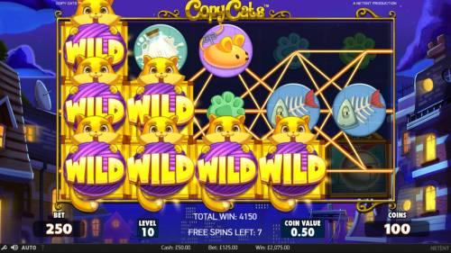 Copy Cats review on Big Bonus Slots