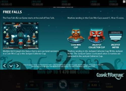 Cosmic Fortune review on Big Bonus Slots
