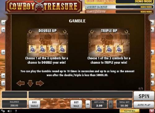 Cowboy Treasure review on Big Bonus Slots