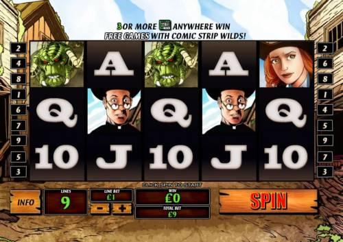 Cowboys & Aliens review on Big Bonus Slots