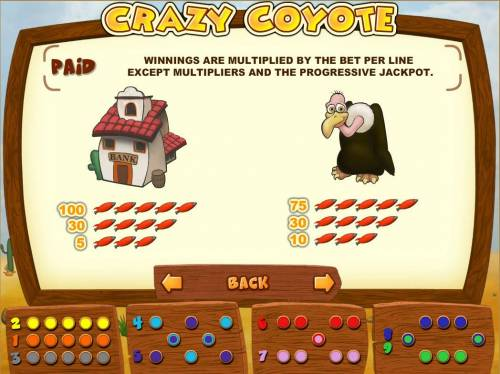 Crazy Coyote review on Big Bonus Slots