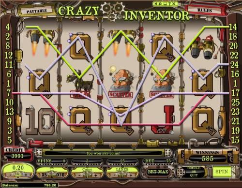 Crazy Inventor review on Big Bonus Slots