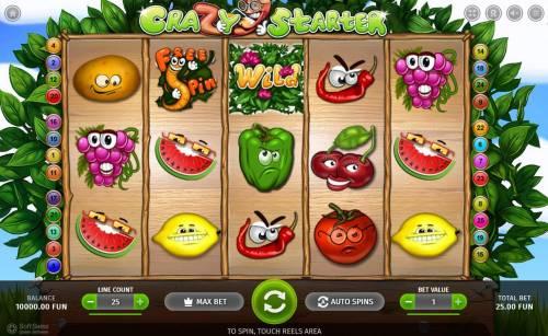 Crazy Starter review on Big Bonus Slots