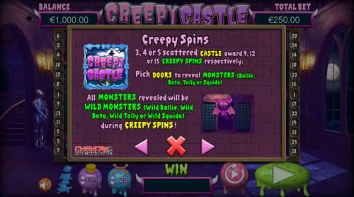 Creepy Castle Big Bonus Slots Creepy Spins