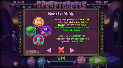 Creepy Castle Big Bonus Slots Monster Wilds