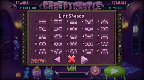 Creepy Castle Big Bonus Slots Paylines 1-25