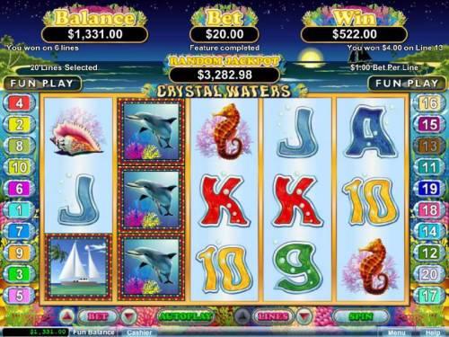 Crystal Waters review on Big Bonus Slots