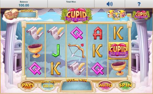 Cupid Wild at Heart review on Big Bonus Slots