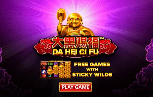 Da Hei Ci Fu Big Bonus Slots Introduction