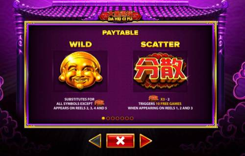 Da Hei Ci Fu Big Bonus Slots Wild and Scatter Symbols Rules and Pays
