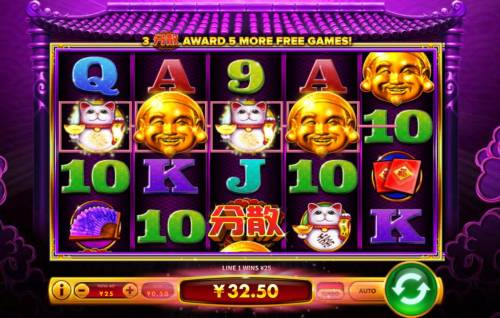 Da Hei Ci Fu Big Bonus Slots A winning Four of a Kind