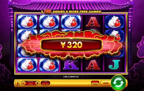 Da Hei Ci Fu Big Bonus Slots Multiple winning paylines triggers a big win!