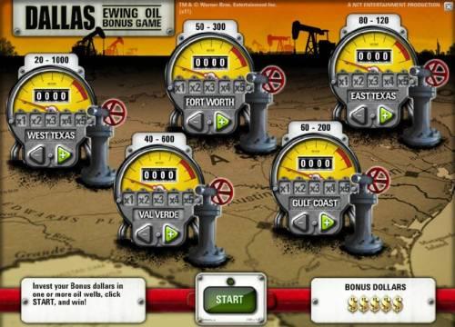 Dallas review on Big Bonus Slots