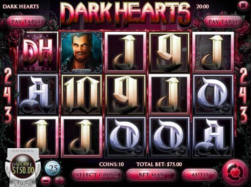 Dark Hearts review on Big Bonus Slots
