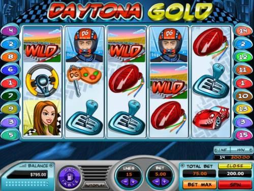 Daytona Gold review on Big Bonus Slots