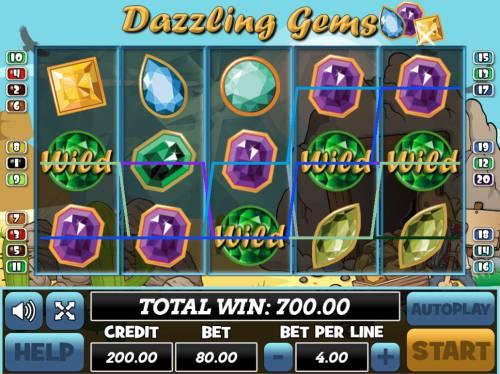 Dazzling Gems review on Big Bonus Slots