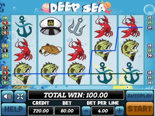 Deep Sea review on Big Bonus Slots