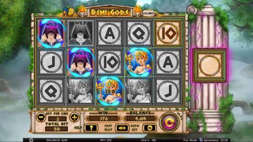 Demi Gods review on Big Bonus Slots