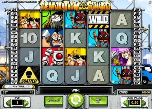 Demolition Squad review on Big Bonus Slots