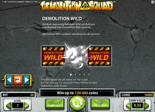 Demolition Squad review on Big Bonus Slots