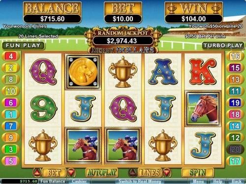 Derby Dollars review on Big Bonus Slots