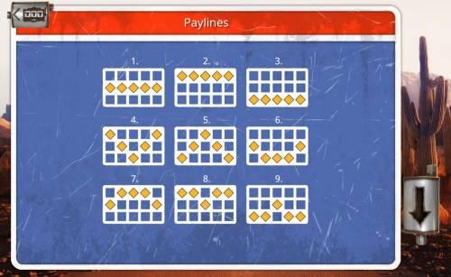 Desert Drag Big Bonus Slots Paylines 1-9