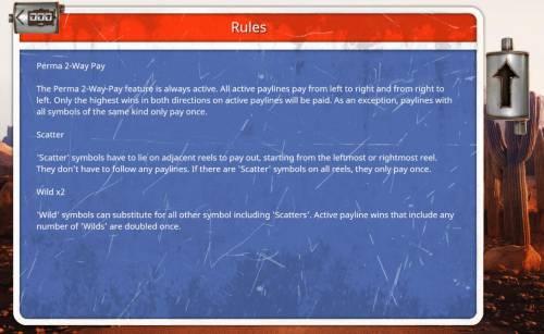 Desert Drag Big Bonus Slots General Game Rules