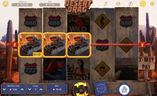 Desert Drag Big Bonus Slots A winning Four of a Kind