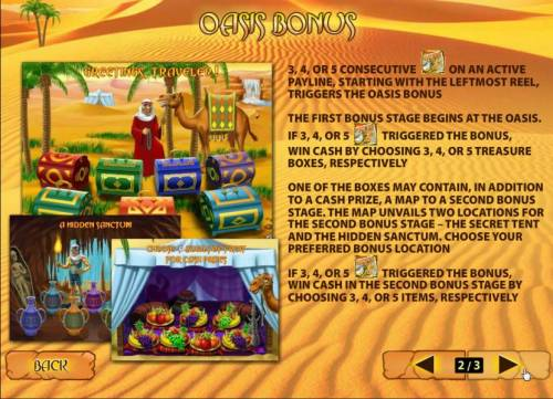Desert Treasure II review on Big Bonus Slots