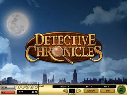 Detective Chronicles review on Big Bonus Slots