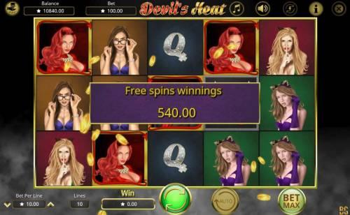 Devil's Heat review on Big Bonus Slots