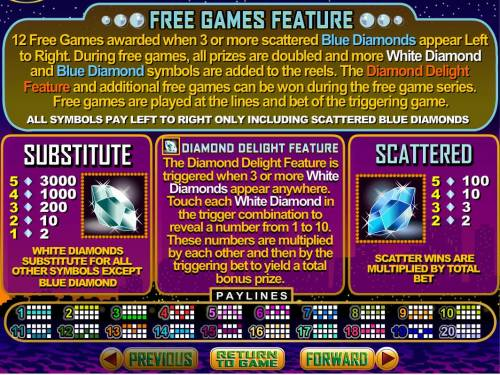 Diamond Dozen review on Big Bonus Slots