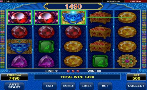 Diamond Monkey Big Bonus Slots Multiple winning paylines