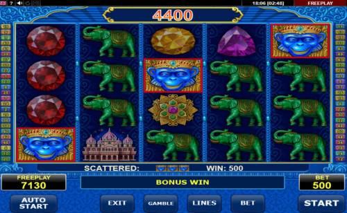 Diamond Monkey Big Bonus Slots Free Games Feature Activated