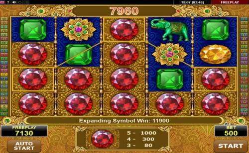Diamond Monkey Big Bonus Slots Multiple winning paylines triggers a big win