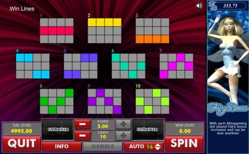 Diamond Big Bonus Slots Win Lines 1-10