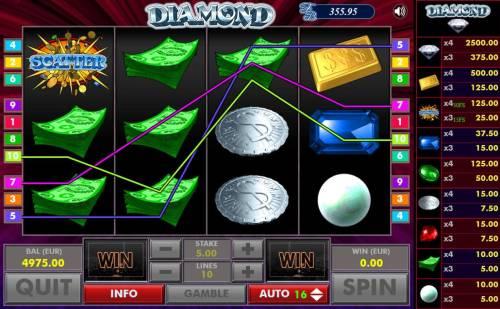 Diamond Big Bonus Slots Multiple winning paylines